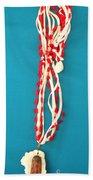 Aphrodite Genettylis Necklace Beach Towel by Augusta Stylianou