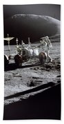 Apollo 15 Lunar Rover Beach Towel