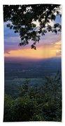 Appalachian Mountains Beach Towel