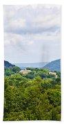 Appalachian Mountains West Virginia Beach Towel