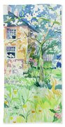 Apple Blossom Farm Beach Towel