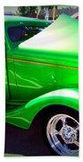 Apple Green Jewel Beach Towel
