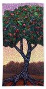 Apple Tree Beach Towel