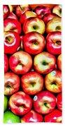 Apples And Oranges Beach Towel