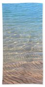 Aqua Art Beach Towel