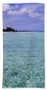 Aqua Blue Beach Towel