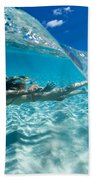 Aqua Dive Beach Towel