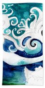 Aqua Mermaid Beach Towel
