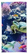 Aquarium Beach Sheet