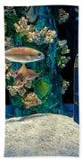 Aquarium Art Beach Towel