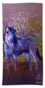 Arabian Horse 2  Beach Towel