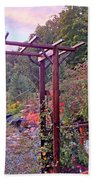 Arbor And Fall Colors 2 Beach Towel
