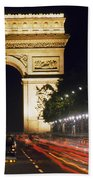 Arc De Triomphe Beach Towel
