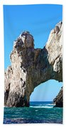 Arch At Land's End Beach Towel