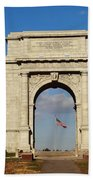 Arch At Valley Forge Beach Towel