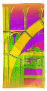 Arch Four - Architecture Of New York City Beach Towel