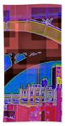 Arch One - Architecture Of New York City Beach Towel
