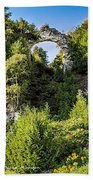 Arch Rock Mackinac Island Michigan Beach Towel