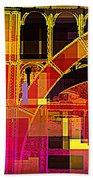 Arch Three - Architecture Of New York City Beach Towel