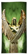 Archangel Azrael Beach Towel