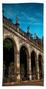 Arches And Statues Beach Towel