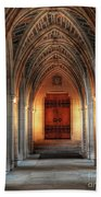 Arches At Duke Chapel Beach Towel