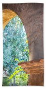Arches At Mission San Juan Capistrano Beach Towel