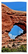 Arches National Park Painting Beach Towel