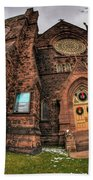 Architecture And Places In The Q.c. Series 03 Trinity Episcopal Church Beach Towel