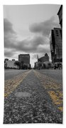 Architecture And Places In The Q.c. Series Delaware And Chippewa Beach Towel
