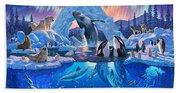 Arctic Harmony Beach Towel