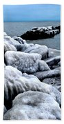 Arctic Waters Beach Towel