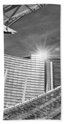 Aria Sun - Aria Resort And Casino At Citycenter In Las Vegas Beach Towel