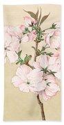 Ariake - Daybreak - Vintage Japanese Watercolor Beach Towel