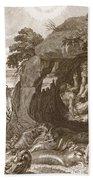 Aristeus Compels Proteus To Reveal Beach Towel
