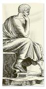 Aristotle Beach Towel