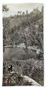 Arizona Apache Lake, 1873 Beach Towel