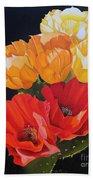 Arizona Blossoms - Prickly Pear Beach Towel