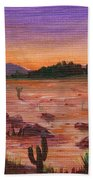 Arizona Desert Beach Towel