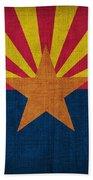Arizona State Flag Beach Sheet