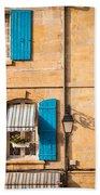 Arles Windows Beach Towel