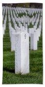Arlington National Cemeterey Beach Towel by Susan Candelario