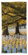 Arlington National Cemetery Washington Dc Beach Towel