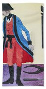 Army Surgeon, C1800 Beach Towel