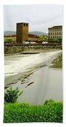 Arno River 1 Beach Towel