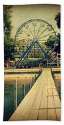 Arnolds Park Beach Towel