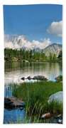 Arpy Lake - Aosta Valley Beach Towel