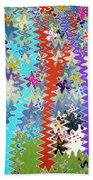 Art Abstract Background 14 Beach Towel