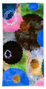 Art Abstract Background 19 Beach Towel