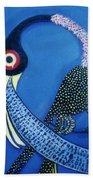 Art Bird Beach Towel